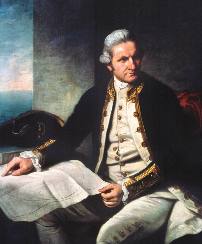 James Cook Royal society conocer historia